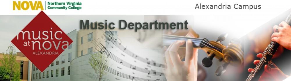 NOVA Alexandria Music Department