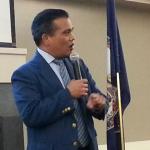 Joe Montano, regional representative for Senator Tim Kaine