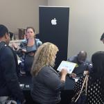 Apple, Inc. talking to job seekers